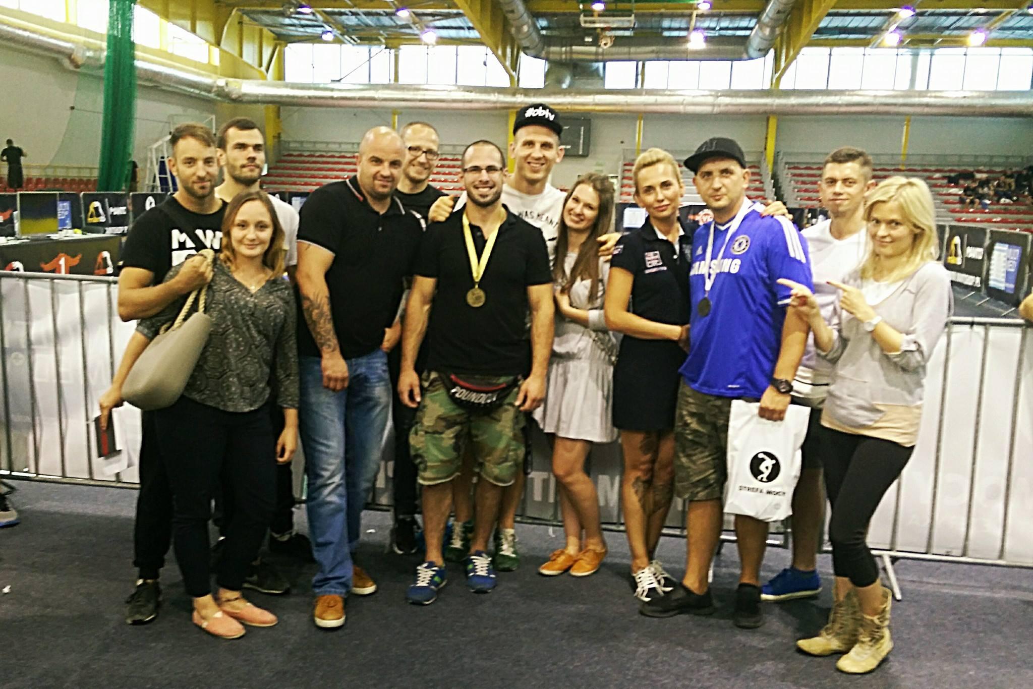 Chaos Gold Team na zawodach brazylijskiego jiu-jitsu