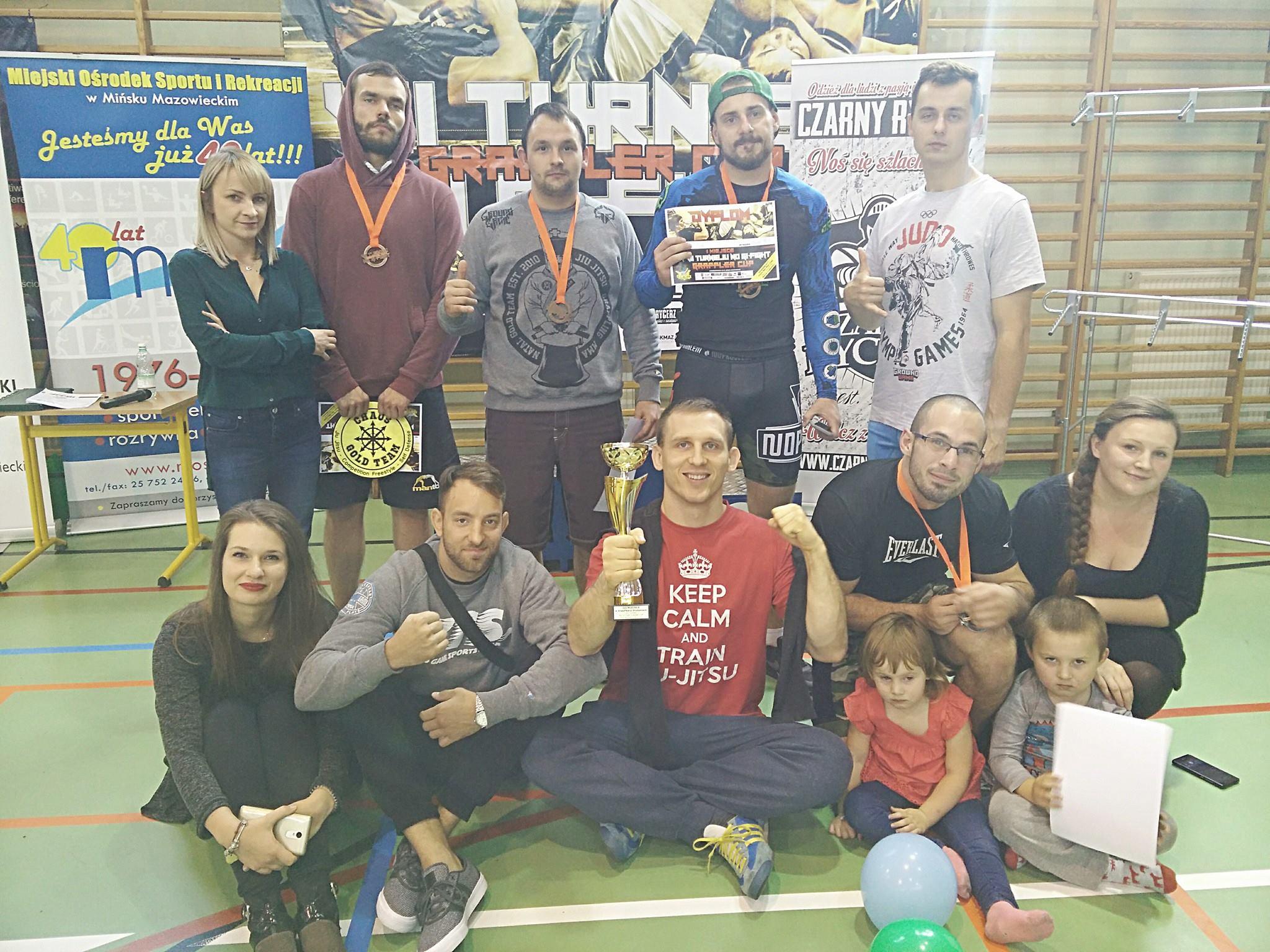 Chaos Gold Team zwycięża w zawodach BJJ